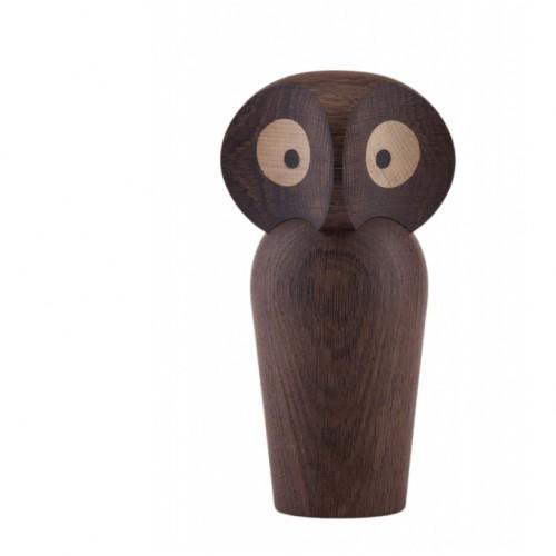 owl architectmade ugle træfigur wood