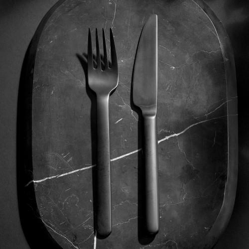 black cutlery menu norm architects sort bestik