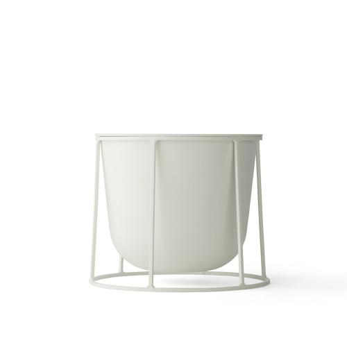 wire pot base menu white hvid