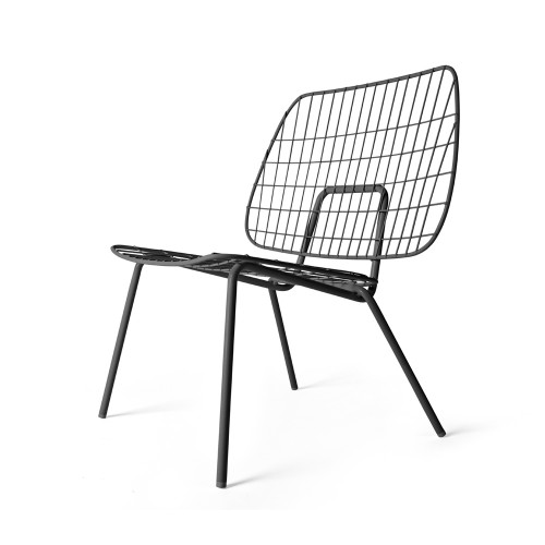 Menu, WM String Lounge Chair - Black
