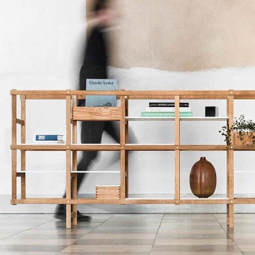 harald hermanrud reol eg dansk design made in denmark formajour reolsystem træ