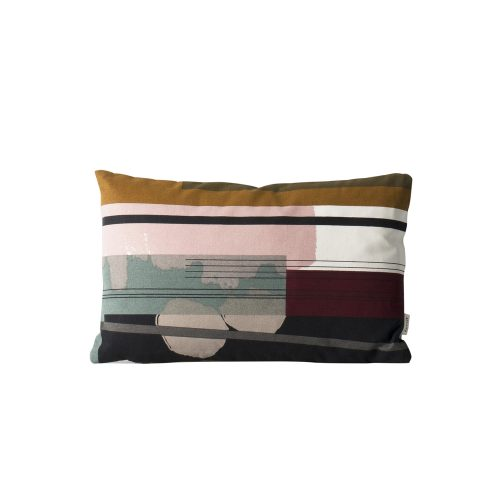 FERM Living, Colour block cushion - Multi