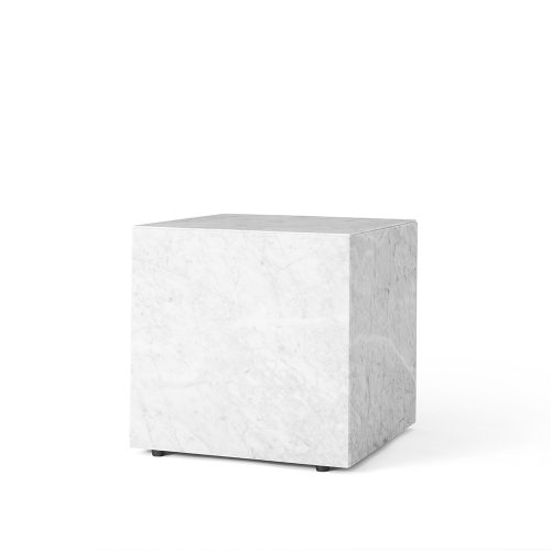 MENU, lille bord/plint i marmor