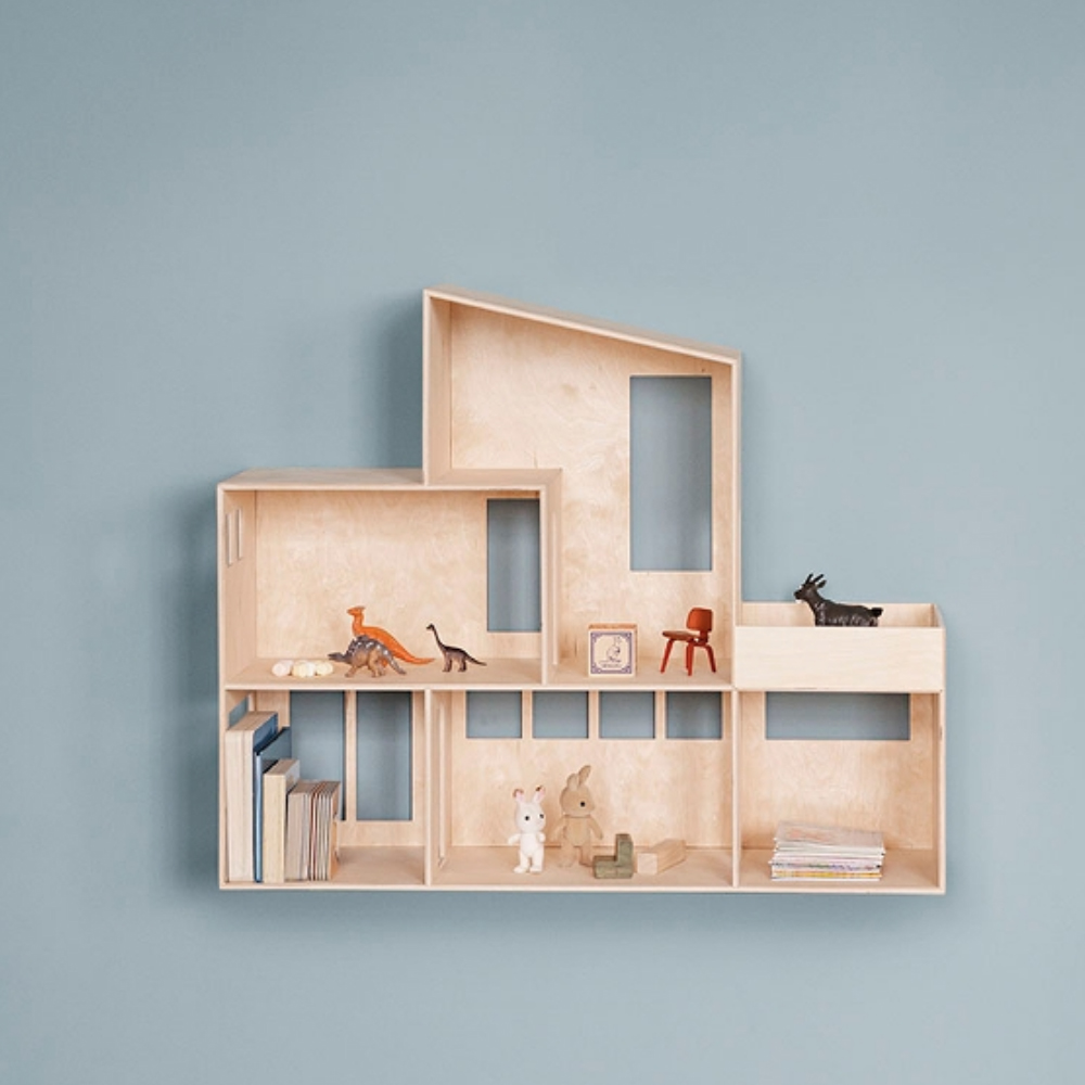 Ferm living miniature funkis house formajour for Funkis house