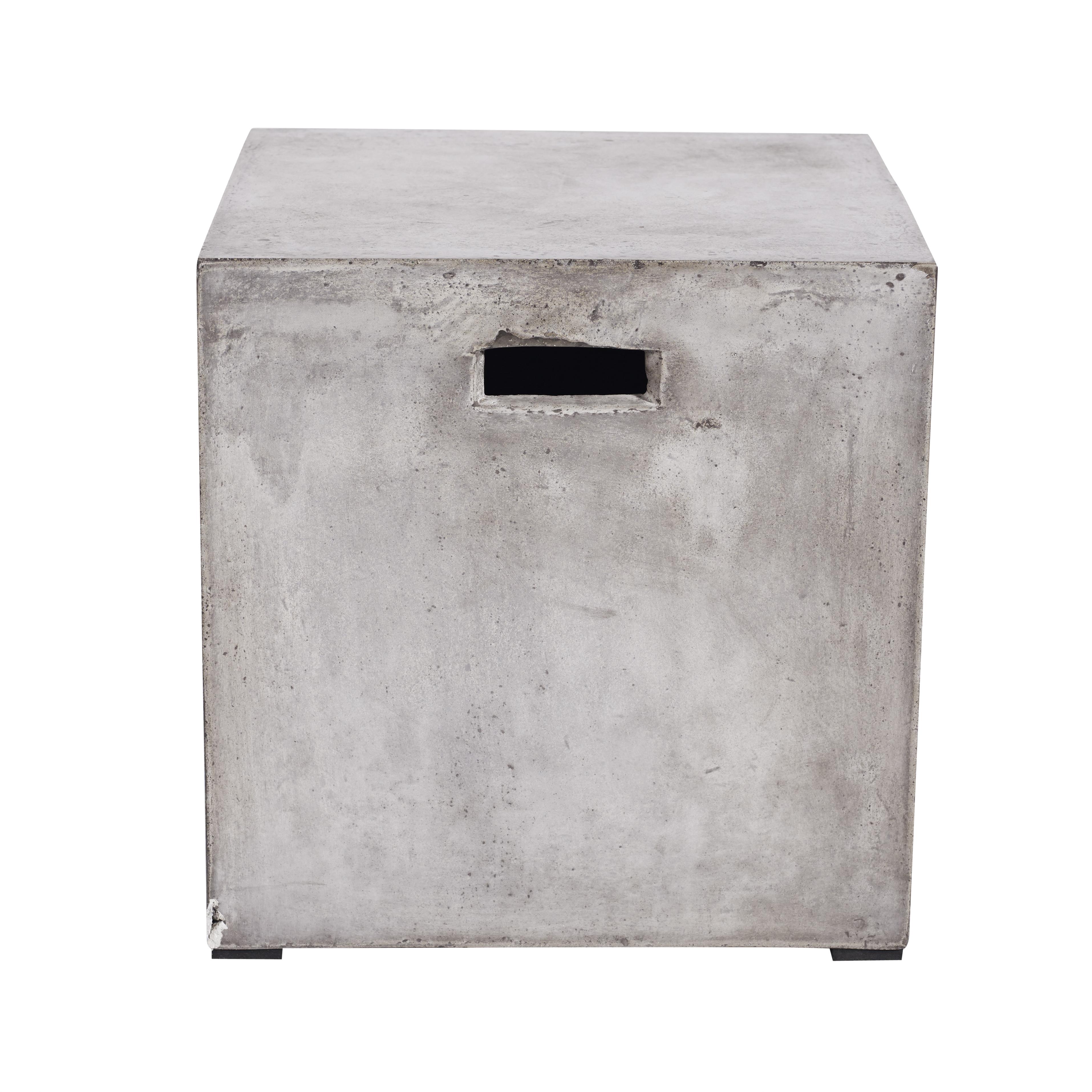 MUUBS, Nixxin - Taburet / Lille bord i beton