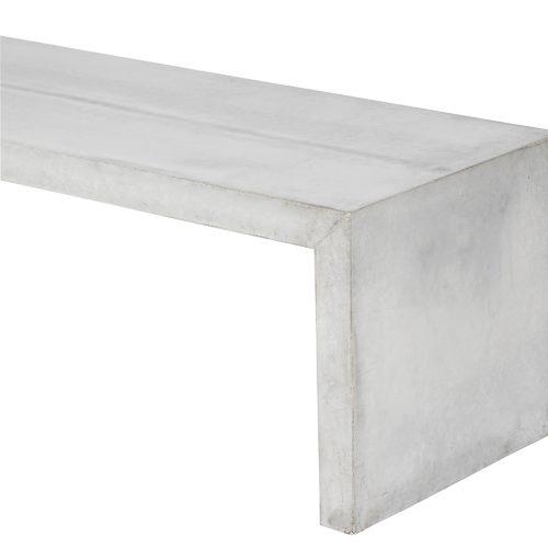 muubs beton bænk FORMajour detalje concrete bench