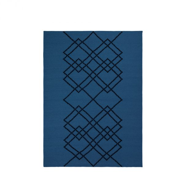 Louise Roe, Borg gulvtæppe – Blå
