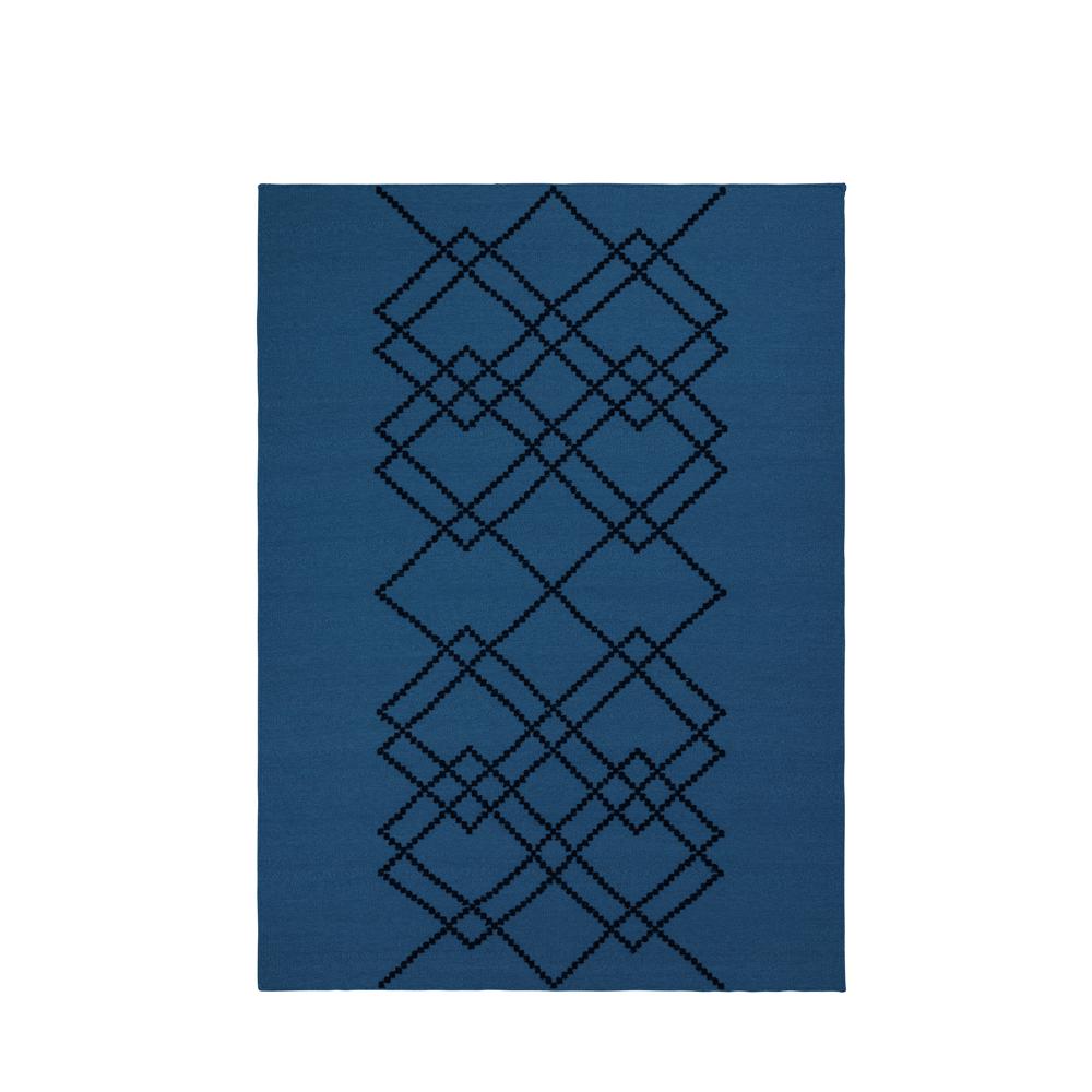 Louise Roe, Borg gulvtæppe - Blå