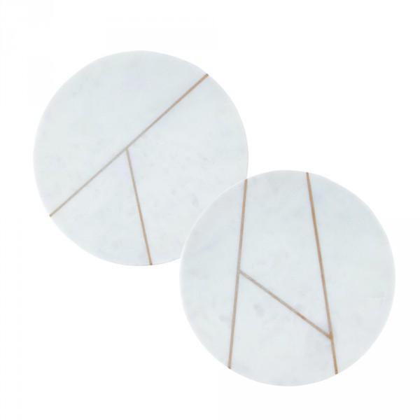 House Doctor, Platte, Hvid marmor – Cirkulær