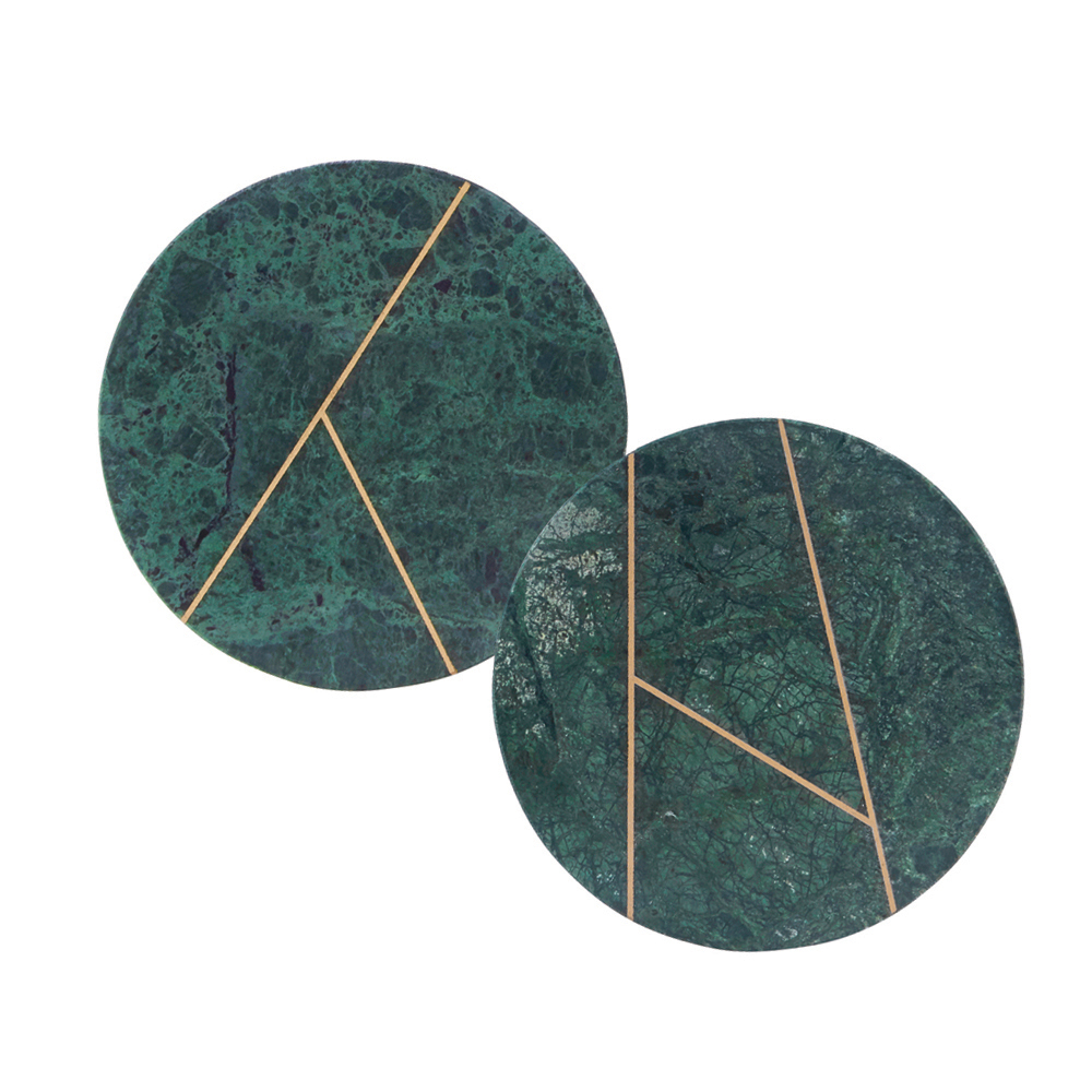 House Doctor, Platte, Grøn marmor - Cirkulær