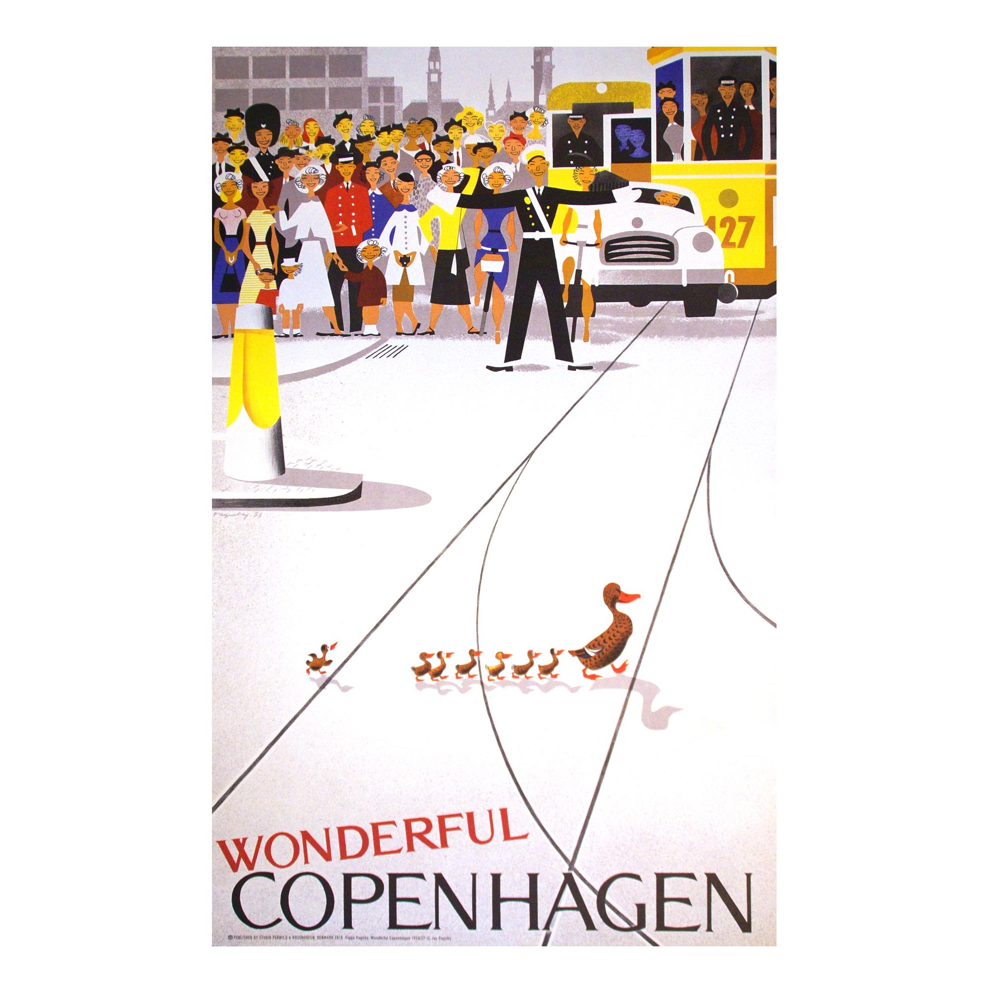 Wonderful Copenhagen poster