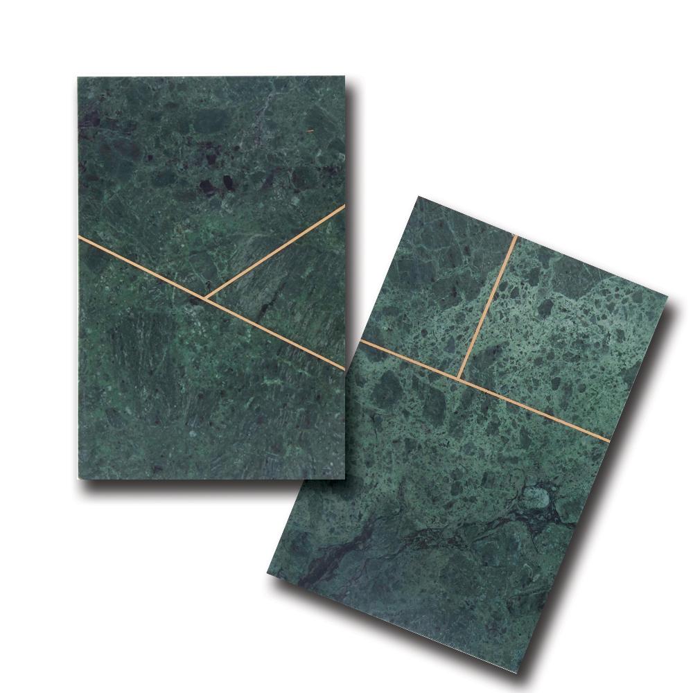 House Doctor, Platte, Grøn marmor - Rektangulær