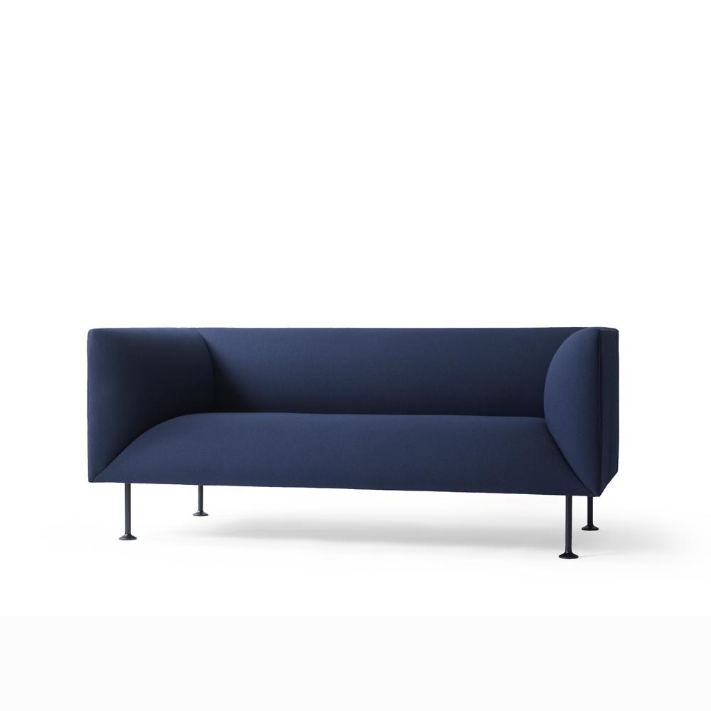 Menu, Godot Sofa, 2-seater Blå - FORMajour