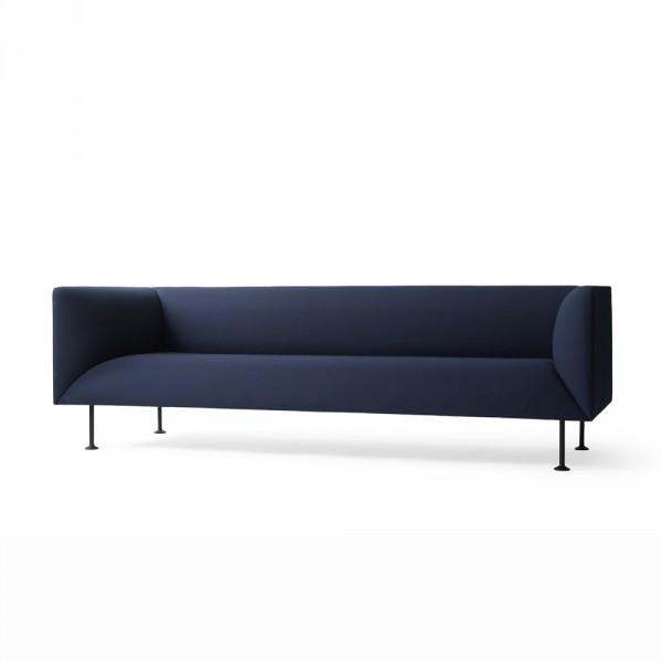 Menu, Godot Sofa, 3-seater Blå – FORMajour