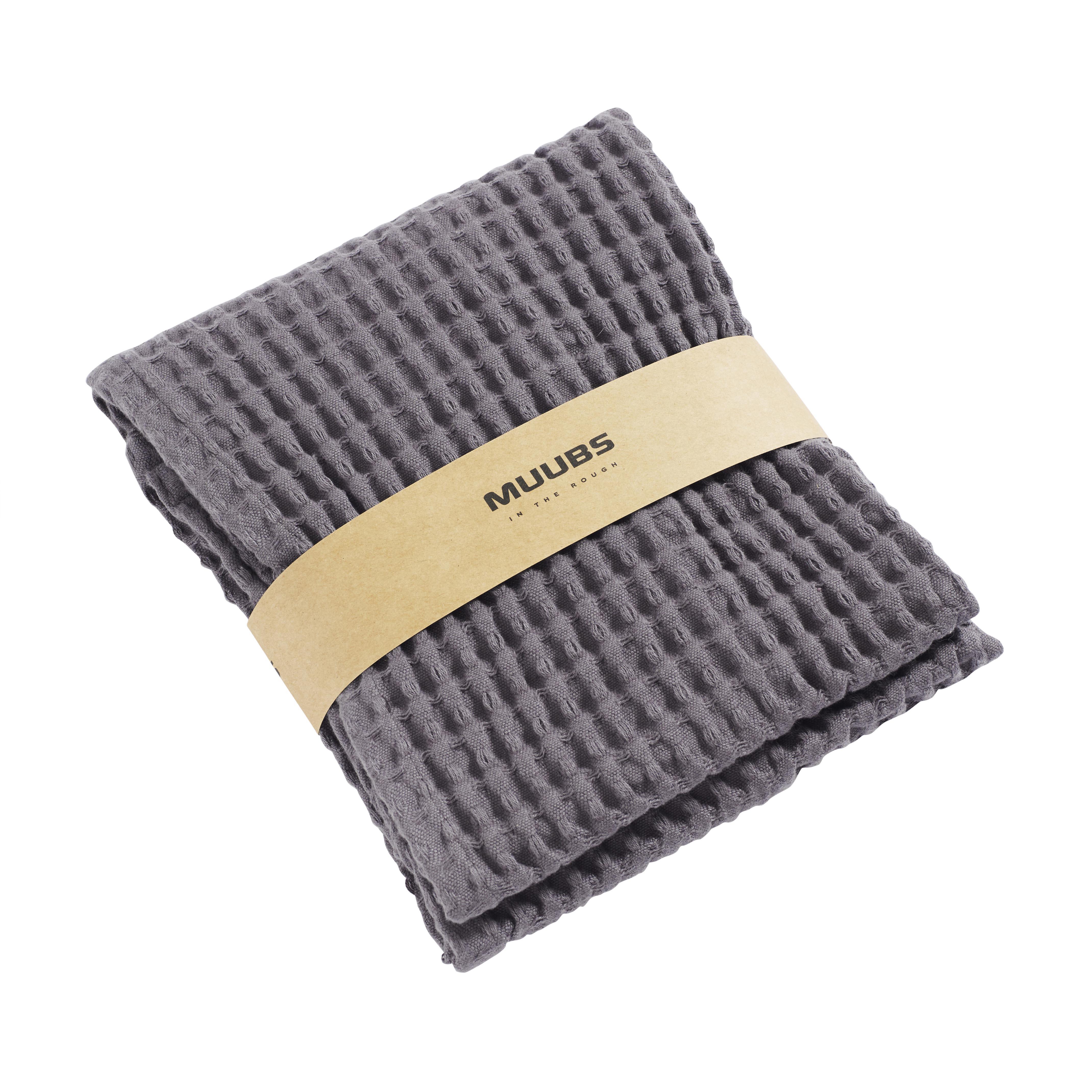MUUBS, Gæstehåndklæde, 100x50cm - Grå