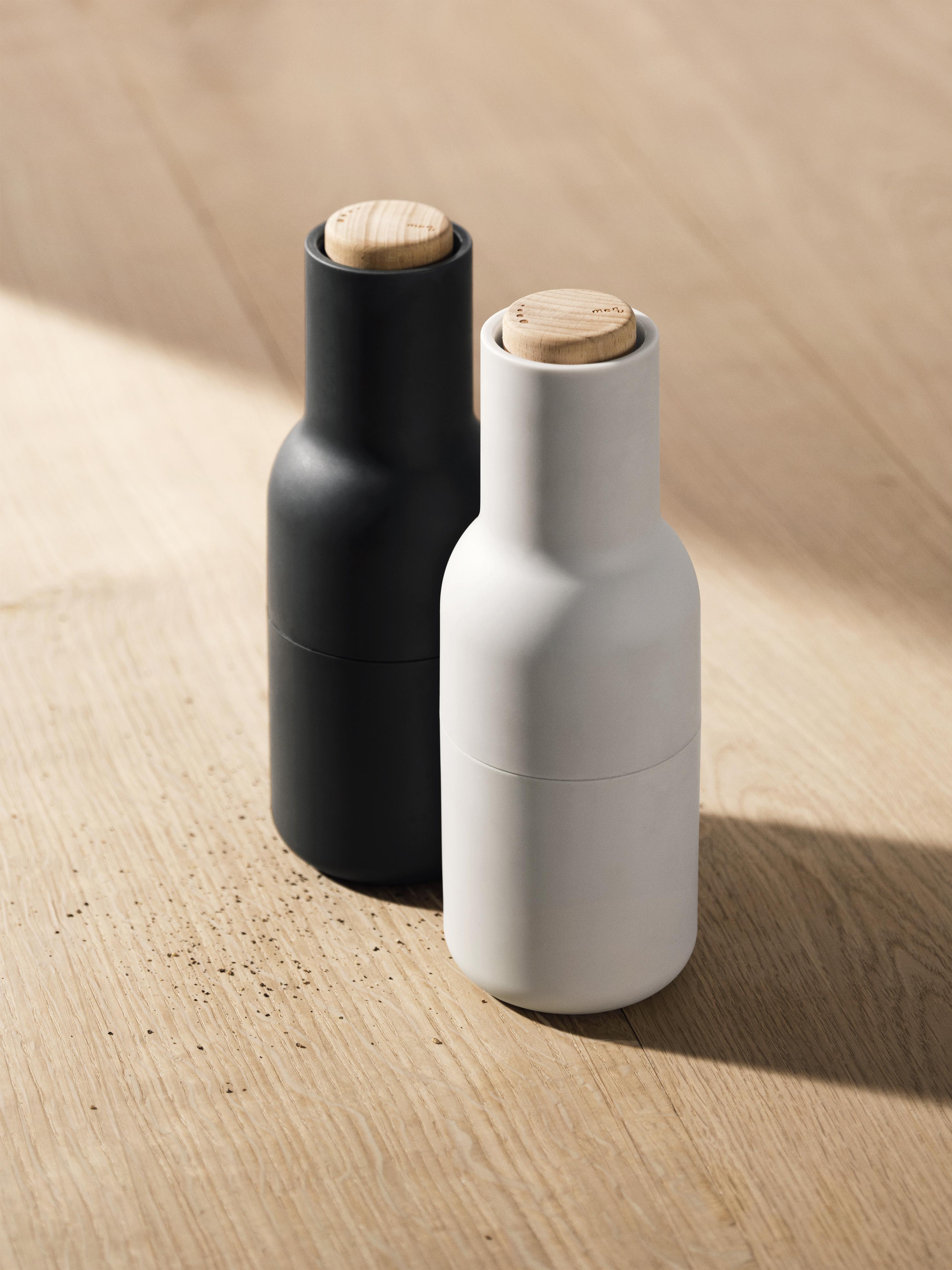 Tidsmæssigt Menu, Salt & peber kværn - Grå - smuk og funktionelt - FORMajour JO-87