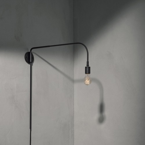 warren black menu lamp