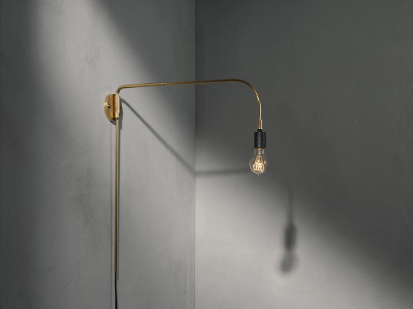 warren brass lamp