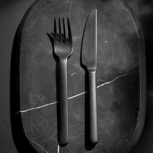 black cutlery menu norm architects sort bestik