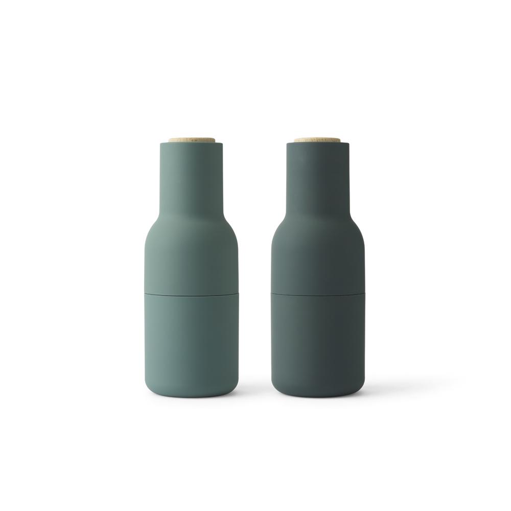 Ultramoderne Menu, Bottle Grinders - Salt & peber kværn - Støvet mørk grøn ZK-99