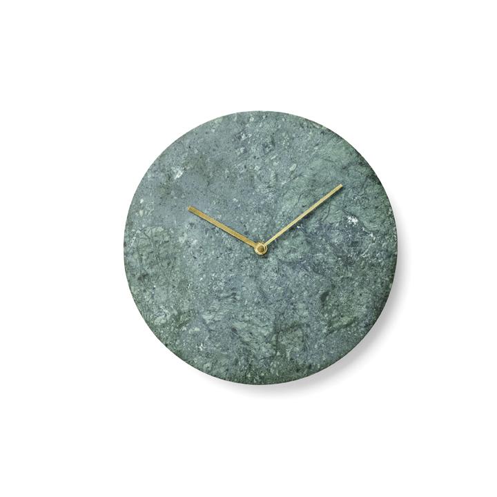 Menu, Norm Wall clock / vægur - Grøn marmor