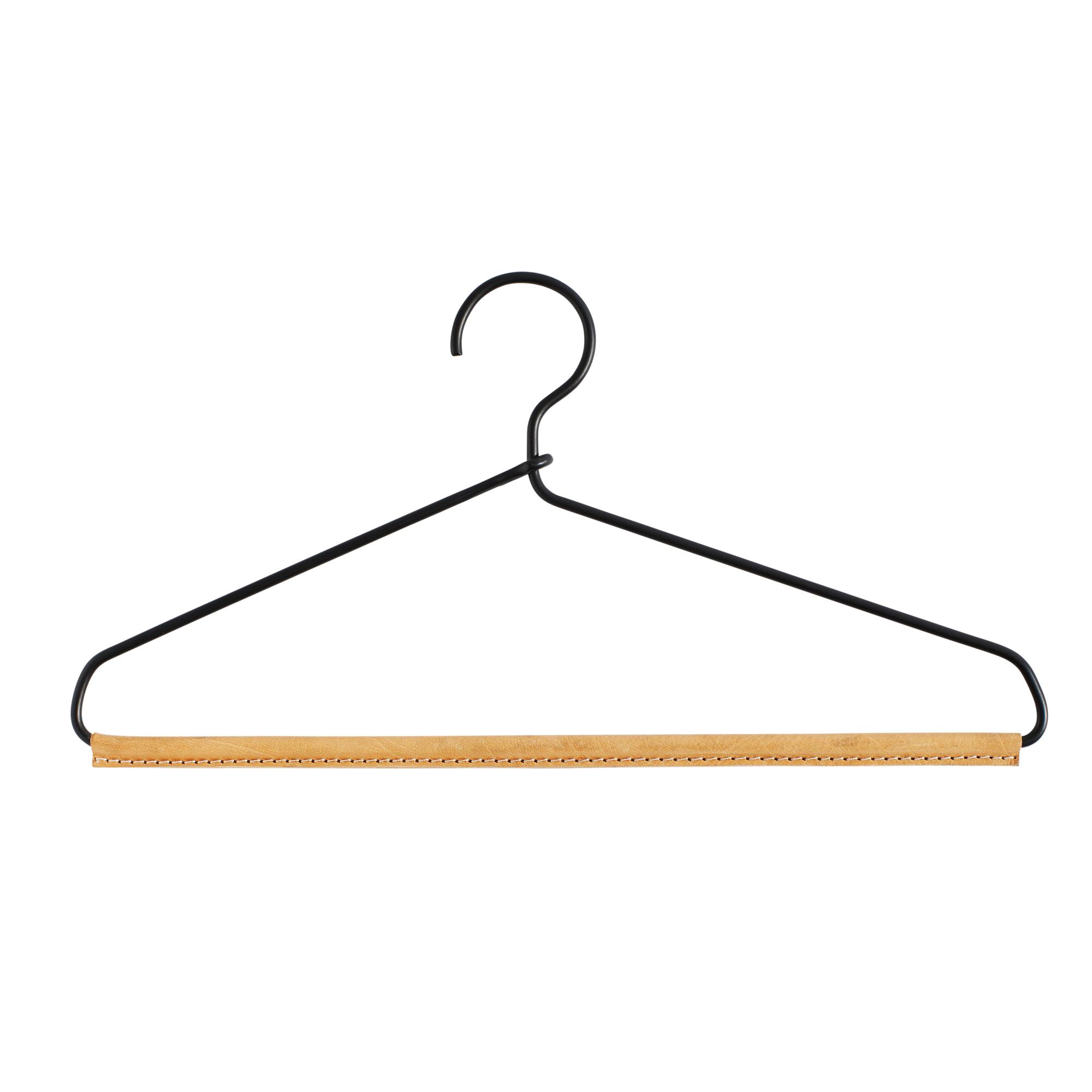 MUUBS, Hanger Frank, bøjle - Sort/læder