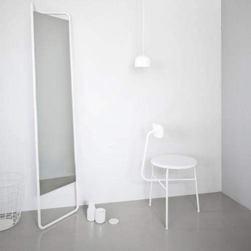 menu floor mirror white hvid gulvspejl