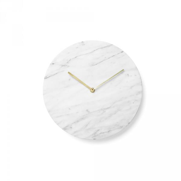 Menu, Norm Wall clock / vægur – Hvid marmor