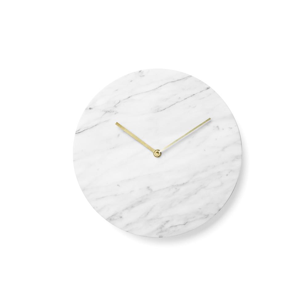 Menu, Norm Wall clock / vægur - Hvid marmor