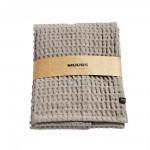 MUUBS, Gæstehåndklæde, 100x50cm – Lys brun