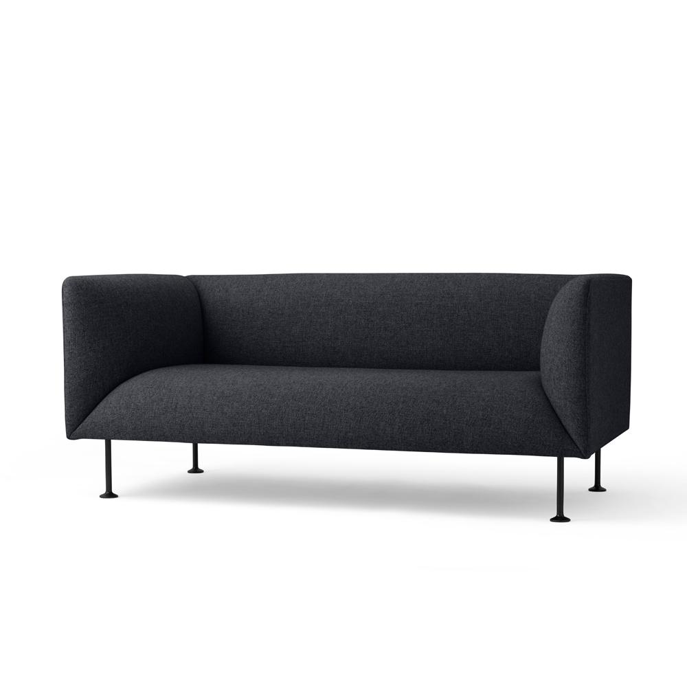 Menu, Godot Sofa, 2-seater Mørkegrå
