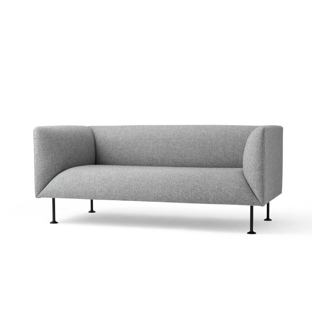 Menu, Godot Sofa, 2-seater Lysegrå - FORMajour