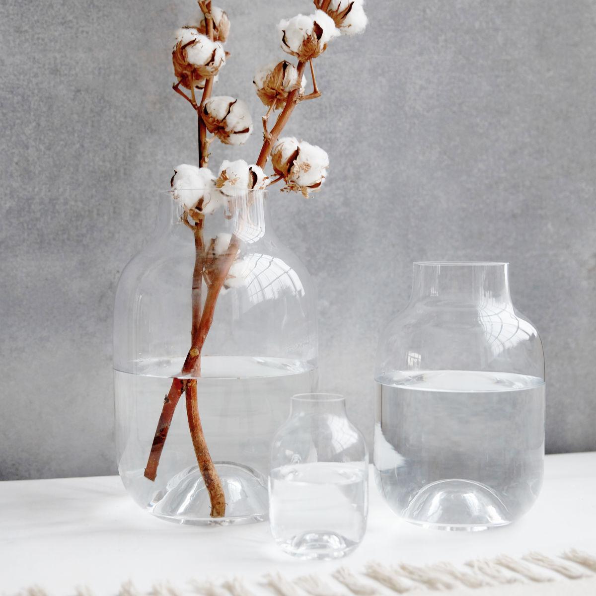 house doctor vase shaped klar 25 cm formajour. Black Bedroom Furniture Sets. Home Design Ideas