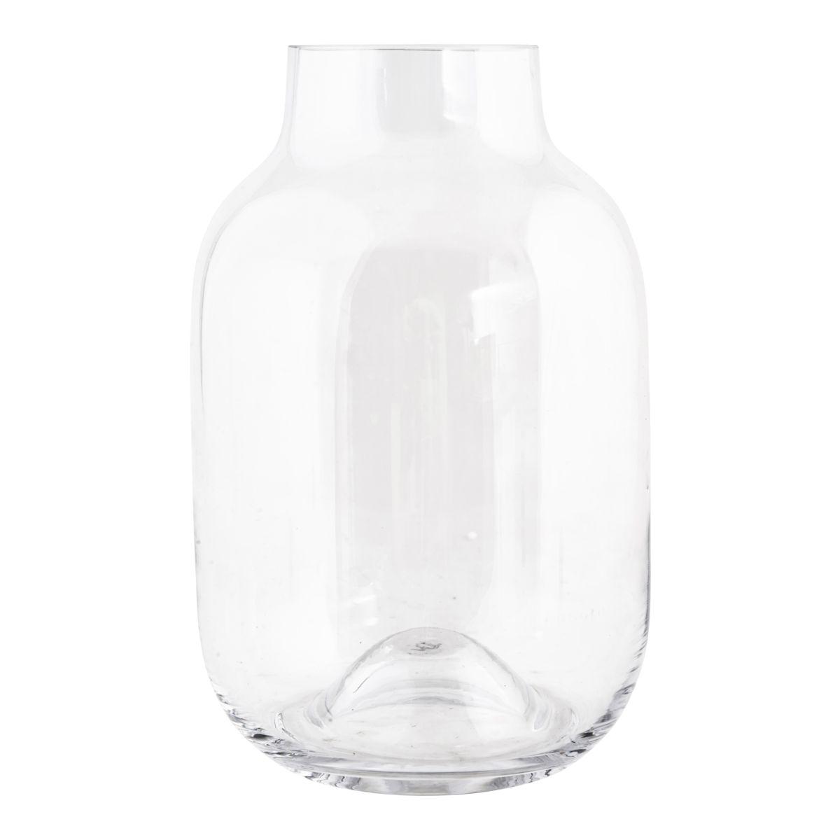 House Doctor, Vase - Shaped klar 32 cm