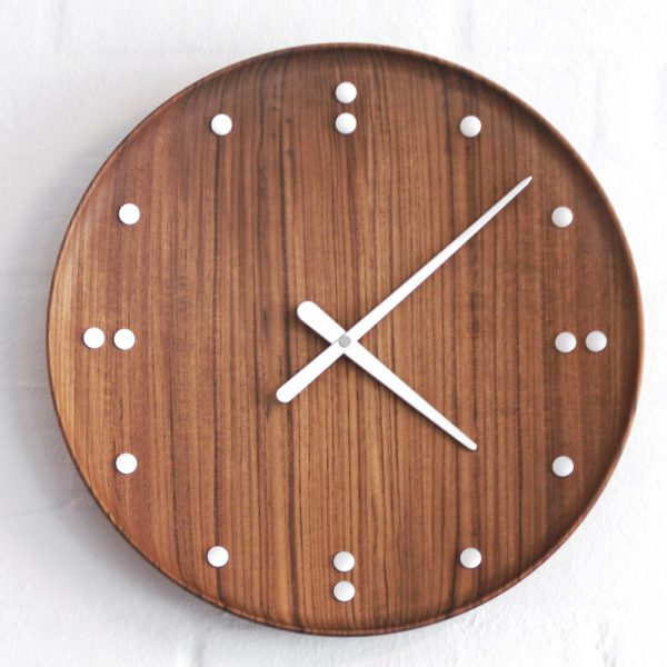 Finn Juhl for Architectmade, FJ Clock – vægur