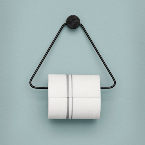 toiletrulleholder ferm living sort