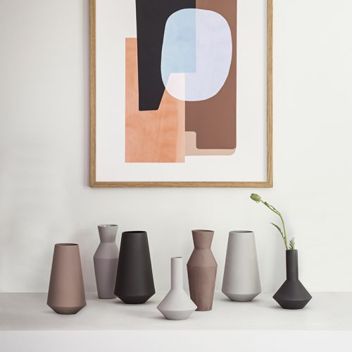 vase ferm living sculpt