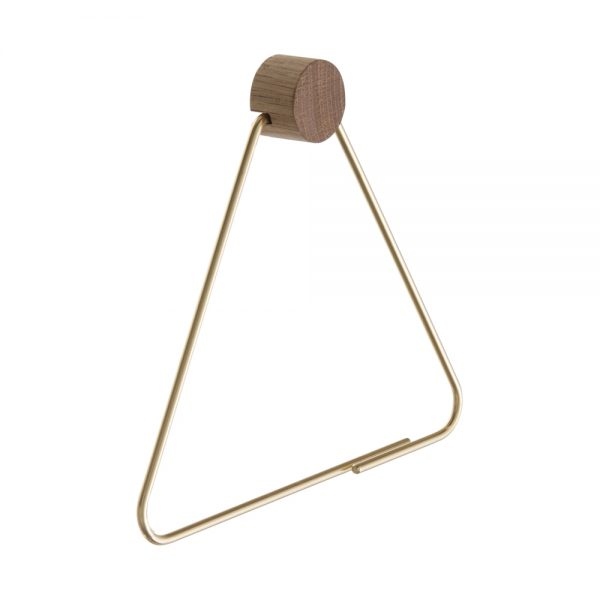 FERM Living, Toiletpapirholder – messing