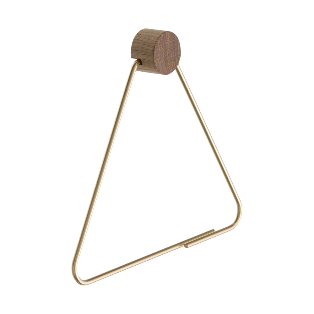 FERM Living, Toiletpapirholder - messing