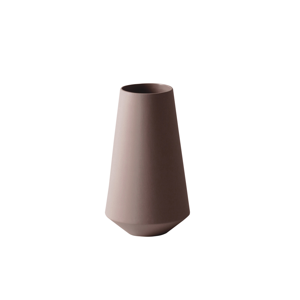 ferm LIVING, Sculpt vase Well - Rust