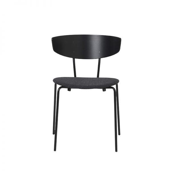 FERM LIVING, Herman Chair – Sort/mørkegrå