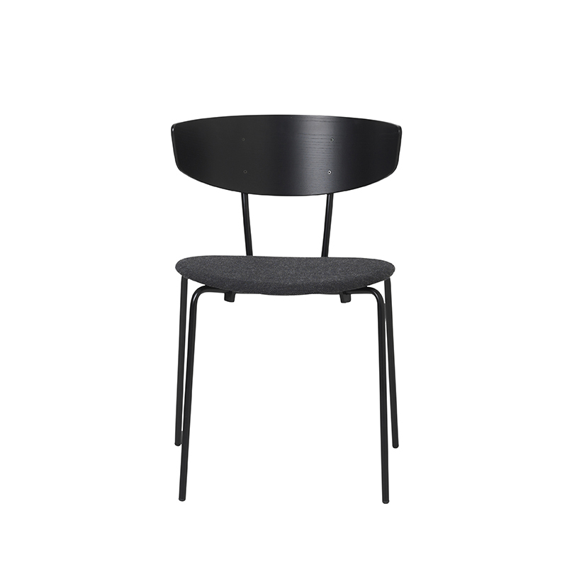 FERM LIVING, Herman Chair - Sort/mørkegrå