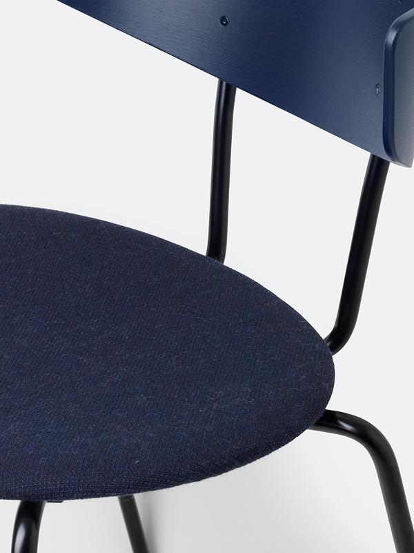 blue chair closeup
