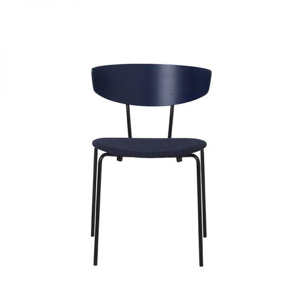 FERM LIVING, Herman Chair – Mørkeblå