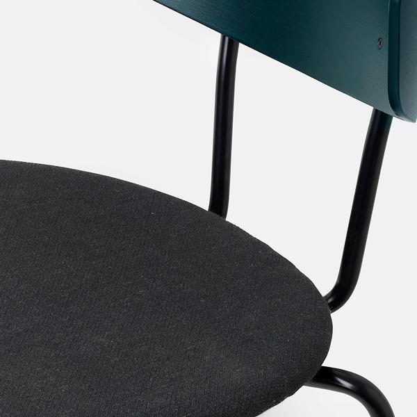 closeup green upholstery