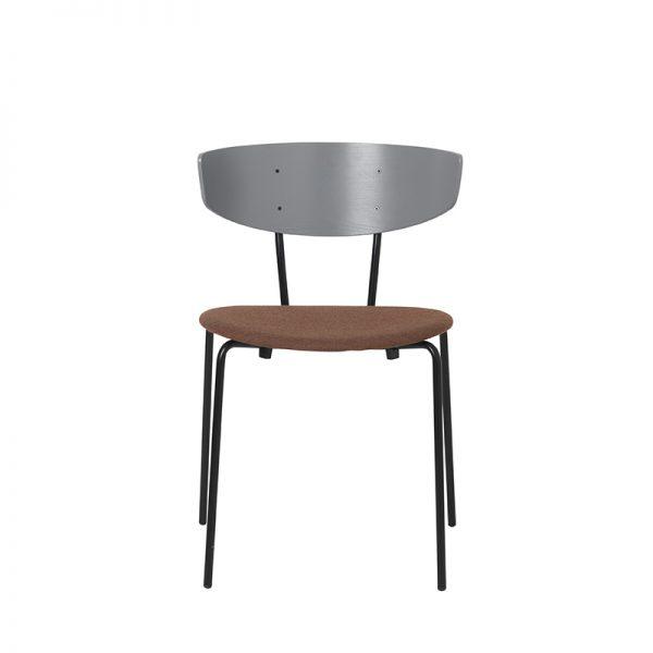 FERM LIVING, Herman Chair – Grå/Rust