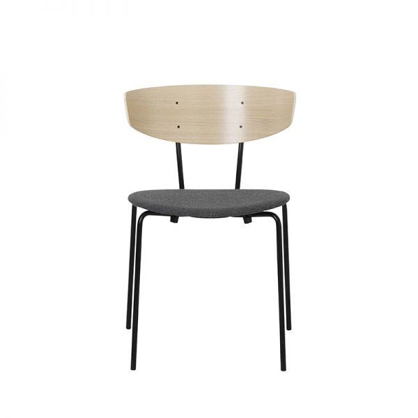 FERM LIVING, Herman Chair – Eg/Grå