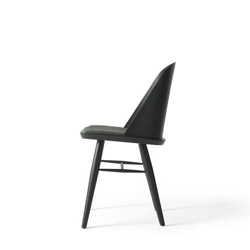 synnes chair menu stol sort træ