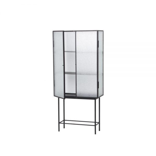 vitrine side open