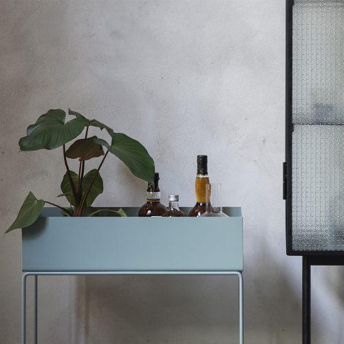 ferm living plant box planteboks pastel plant box blue